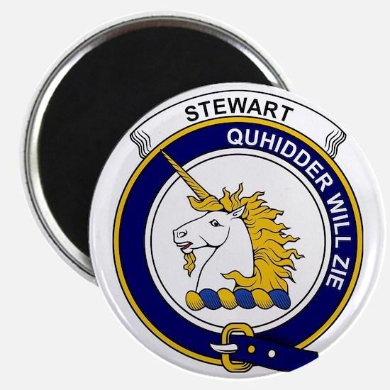 Stewart (of Appin) Clan Badge Magnet