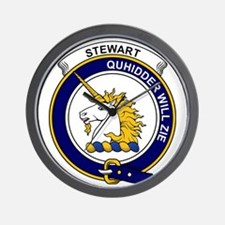 Stewart (of Appin) Clan Badge Wall Clock