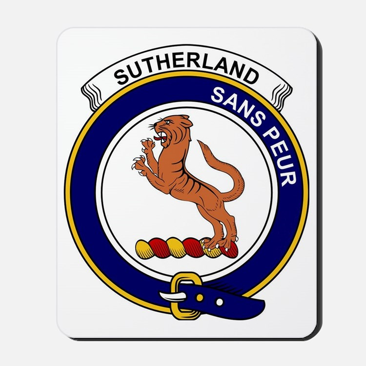 Sutherland I (Earl of) Clan Badge Mousepad