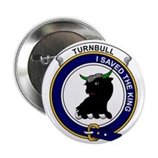 "Turnbull Clan Badge 2.25"" Button"