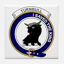 Turnbull Clan Badge Tile Coaster