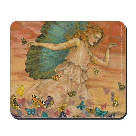 Psyche Butterfly mousepad