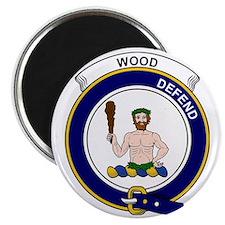 Wood Clan Badge Magnet