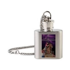 Barrel Racing iphone case 2 Flask Necklace