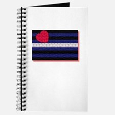 LEATHER PRIDE FLAG/RED SHADOW Journal