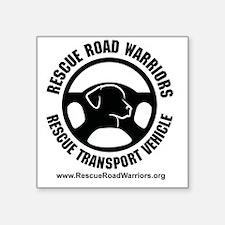"RoadWarriorsFinal1 Square Sticker 3"" x 3"""