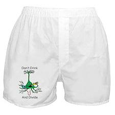 drunkDivideNeuron Boxer Shorts