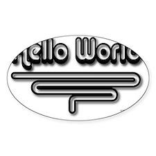 Hello World Decal