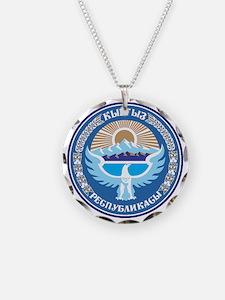 Emblem of Kyrgyzstan Necklace