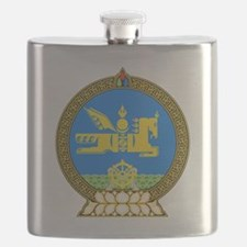 Emblem of Mongolia Flask