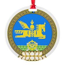 Emblem of Mongolia Ornament