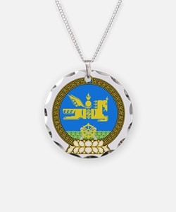 Emblem of Mongolia Necklace