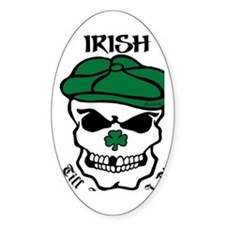IRISH Till The Day I Die (black/gre Decal