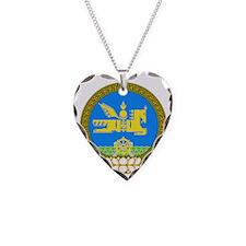 Emblem of Mongolia Necklace