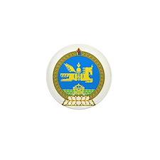 Emblem of Mongolia Mini Button