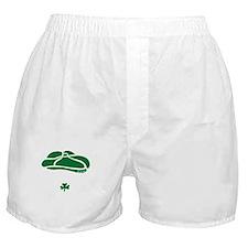 IRISH Till The Day I Die (white/green Boxer Shorts