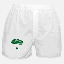 IRISH Till The Day I Die (white/green Boxer Shorts