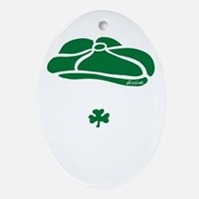 IRISH Till The Day I Die (white/gree Oval Ornament