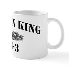 jking black letters Mug