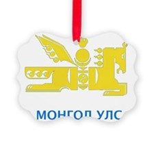 Mongolia emblem Ornament