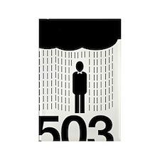 503-Portland Rectangle Magnet