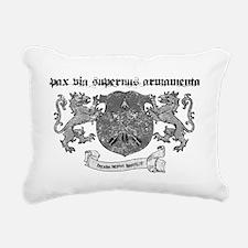 peace via superior firep Rectangular Canvas Pillow