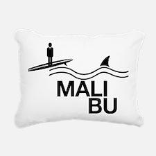 Malibu Rectangular Canvas Pillow