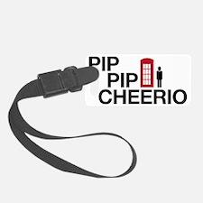 Pip Pip Cheerio Luggage Tag