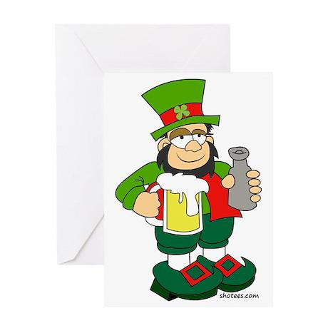 Irish Man Greeting Card