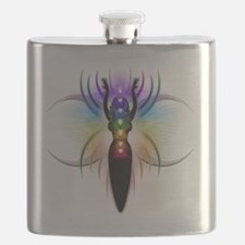 Chakra Goddess - transparent Flask