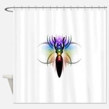 Chakra Goddess - transparent Shower Curtain