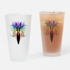 Chakra Goddess - transparent Drinking Glass