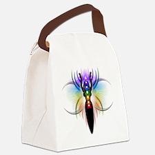 Chakra Goddess - transparent Canvas Lunch Bag