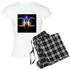 Chakra Goddess - greeting c Pajamas