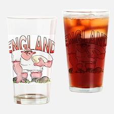 English Rugby - Forward 1 Drinking Glass
