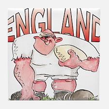 English Rugby - Forward 1 Tile Coaster