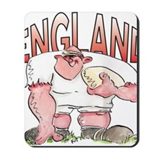 English Rugby - Forward 1 Mousepad