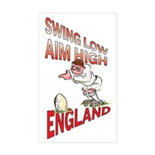 English Rugby - Kicker Decal