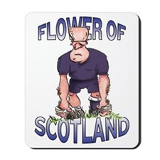 Scottish Rugby - Kicker Mousepad