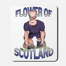 Scottish Rugby - Kicker Mousepad