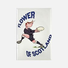 Scottish Rugby - Back Rectangle Magnet