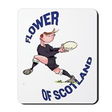 Scottish Rugby - Back Mousepad