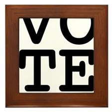 VoteSantorum1 Framed Tile