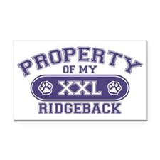ridgebackproperty Rectangle Car Magnet