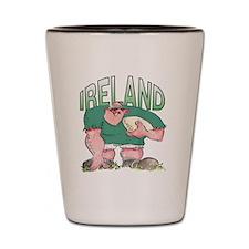 Irish Rugby - Forward 1 Shot Glass