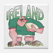 Irish Rugby - Forward 1 Tile Coaster