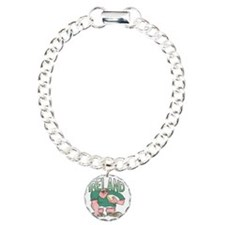 Irish Rugby - Forward 1 Charm Bracelet, One Charm