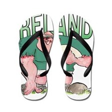 Irish Rugby - Forward 1 Flip Flops