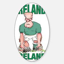 Irish Rugby - Forward 2 Decal