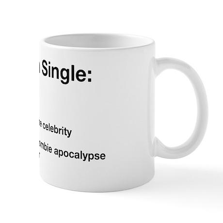 zombie single Mug
